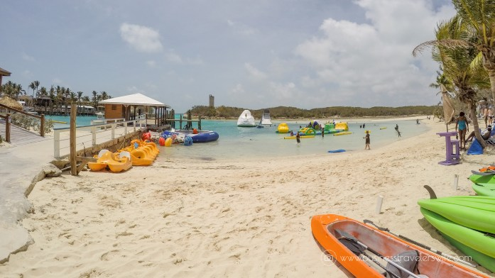 VIP Beach Day and Dolphin Encounter on Blue Lagoon Island, Bahamas Aqua Bounce Park (1 of 1)-2