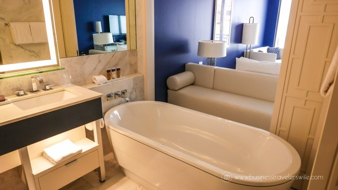 Grand Hyatt Baha Mar - A Grand Vacation in Nassau Bahamas Bathroom