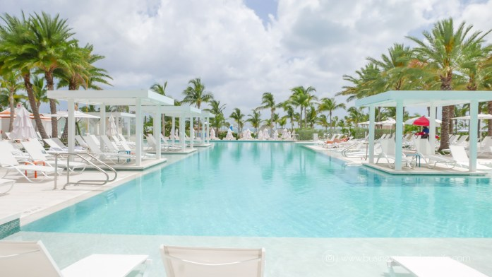 Grand Hyatt Baha Mar - A Grand Vacation in Nassau Bahamas 7 outdoor pools