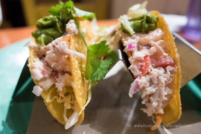 bimini road seafood crunchy taco