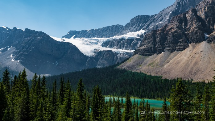 Scenic Summer Roadtrip to the Canadian Rockies Crowfoot Glacier (1 of 1)