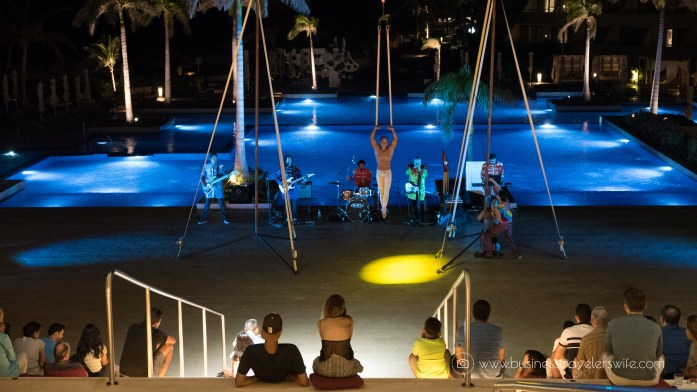 Experience the All-Inclusive Resort at Hyatt Ziva Cancun Activities acrobat