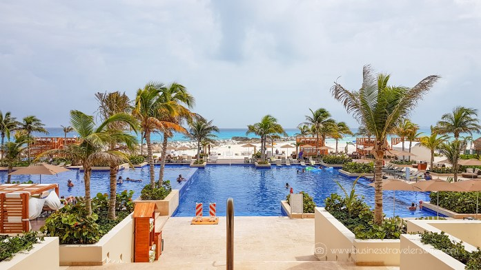 Experience the All-Inclusive Resort at Hyatt Ziva Cancun swimming pool