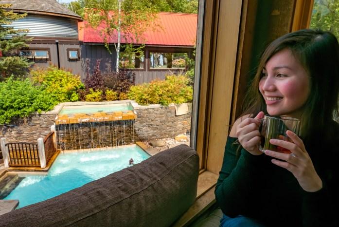 Relaxing Getaway at Scandinave Spa Blue Mountain scandinavian bath Business Traveler's Wife