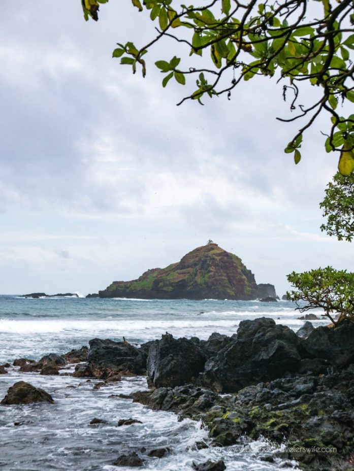 10 Memorable Stops on the Road to Hana for A Self-Drive Tour Maui, Hawaii Koki Beach Red Rock Alau Island