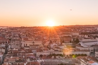 Featured Image 15 Travel Tips for Your First Trip to Lisbon Portugal Sunset Views