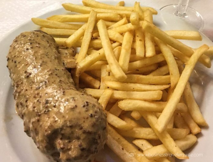 Our List of Must-Try Foods in Paris Bouillon Chartier Grilled Andouillette