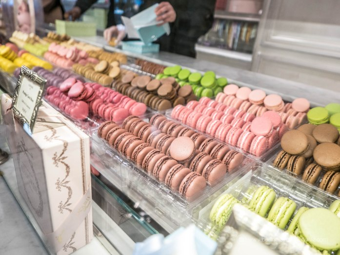 Our List of Must-Try Foods in Paris Laduree Macarons