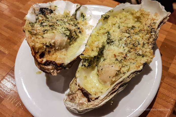Las Vegas Travel Hack Using myVEGAS Rewards and Hotel Comps Complimentary Dinner Buffet at The Buffet, Aria Grilled Oysters