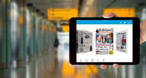 Met ingang van de zomerdienstregeling op 26 maart, heeft de KLM app de papieren krant aan boord in de Economy Class vervangen. In de World Business Class worden de papieren kranten nog wel bevoorraad. De vermindering van het aantal kranten aan boord betekent voor KLM 21.000 kg minder gewicht en afval aan boord per jaar. Hiermee bespaart de airline op jaarbasis 295.000 liter kerosine, waardoor zij 750 ton minder CO2-uitstoot. De KLM Media app ging van start met 13 digitale kranten en dat aantal is nu uitgebreid naar 20.