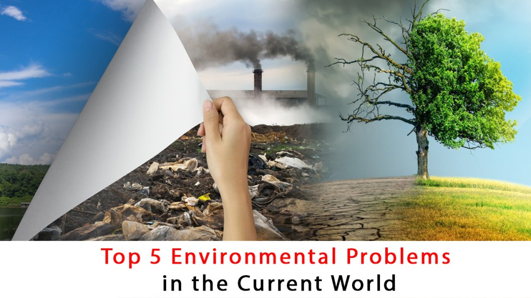 Pollution A Major Environmental Issue