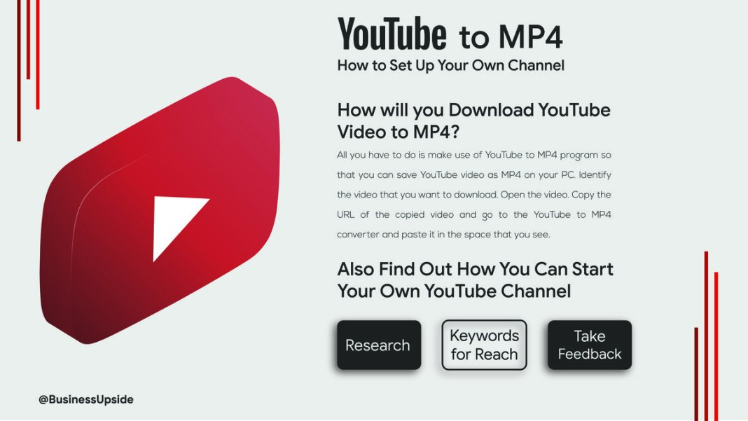How to Download from YouTube to MP4