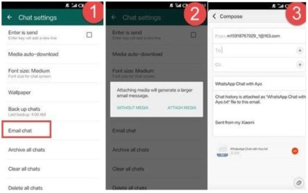 transfer WhatsApp chats from Android to iPhone