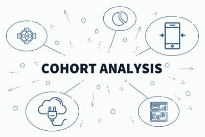 cohort analysis chart