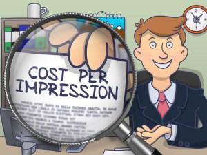 average cost per impression rates
