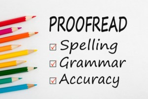 Freelance proofreading jobs