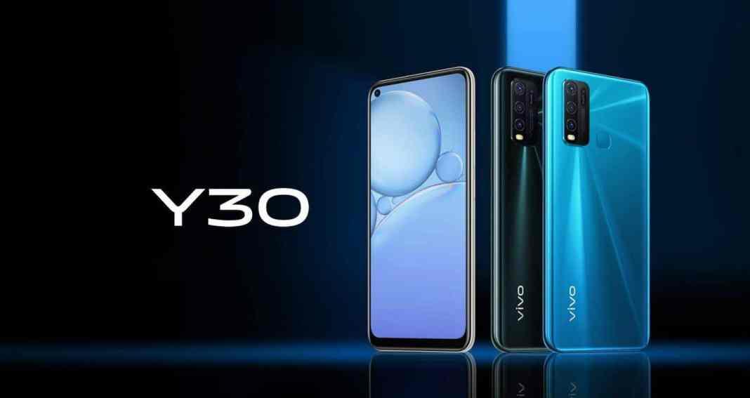 vivo y30 smartphone
