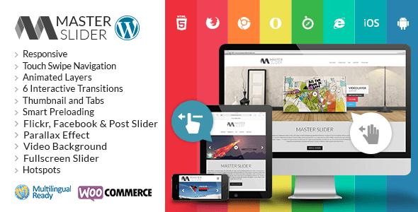 Master Slider WordPress Responsive Touch Slider v2.9.7
