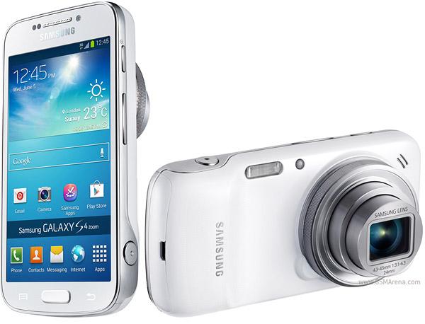 Samsung avec son nouveau smartphoneGalaxy K zoom
