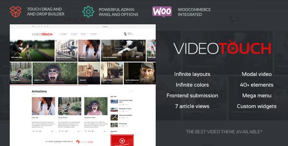 VideoTouch – Video WordPress Theme v1.3