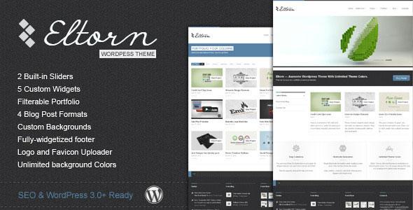 Eltorn – Themeforest Premium WordPress Theme