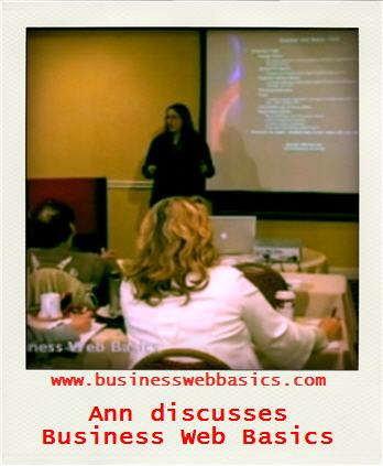 Ann goes over Flash at Business Web Basics