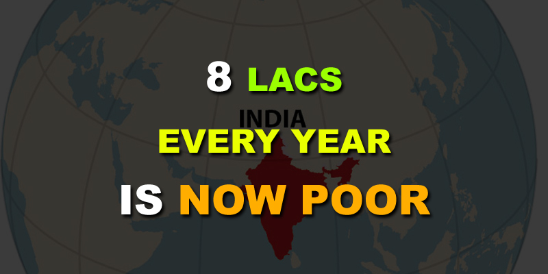 people earning 8 lac per year