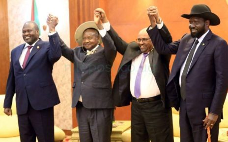 EAC heads of state try to amend Kiir-Machar broken ties