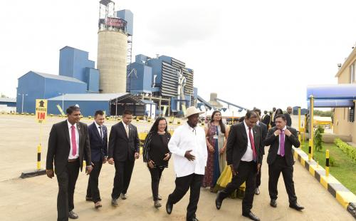 President Museveni commissions 4th Cement manufacturer in Uganda