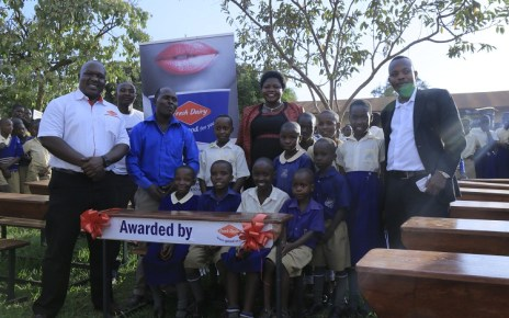 Fresh Dairy has donated Twenty (20) classroom desks to Kirinya Catholic Primary School for emerging 2nd Runner-Up winners in the 2018 Fresh Dairy Schools Program.