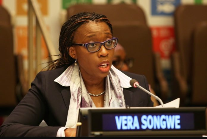 Economic Commission for Africa Executive Secretary Vera Songwe