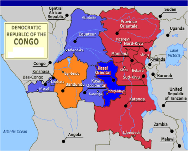 Map-of-the-Democratic-Republic-of-Congo-showing-11-provinces-