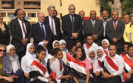 Uk has pledged to support education reforms in Egypt