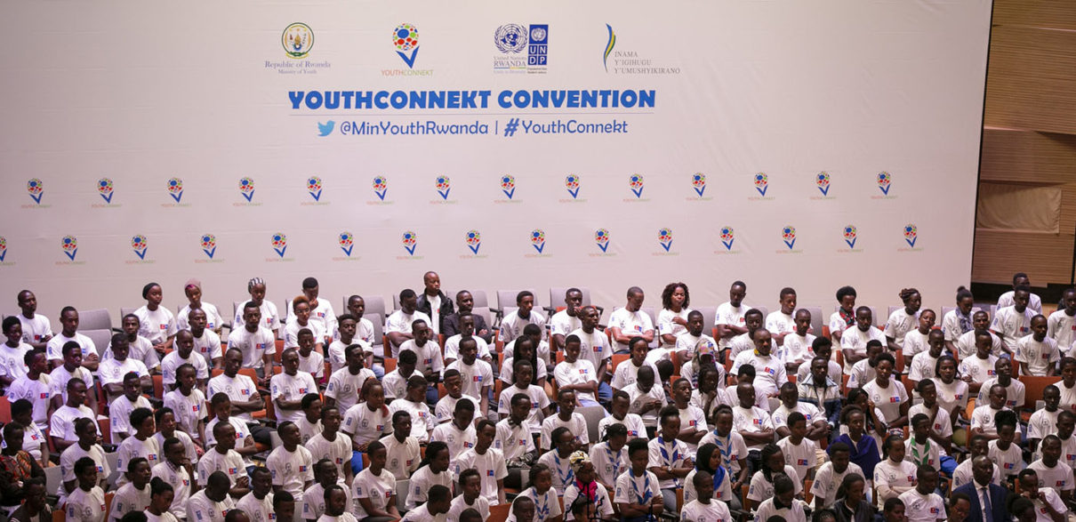 YouthConnekt convention is an annual event that gathers youth from all districts of Rwanda and abroad