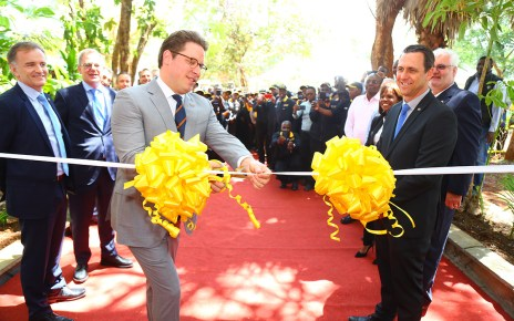 BIC global CEO Mr. Gonzalve BICH officially opens the BIC East Africa facility in Kasarani, Nairobi.