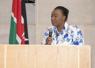 Kenya's Cabinet Secretary for Foreign Affairs, (Dr) Monica Juma.