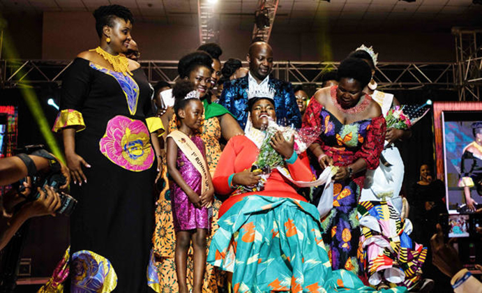 "Belinda Nasasi, Uganda's first-ever ""Miss Curvy"""