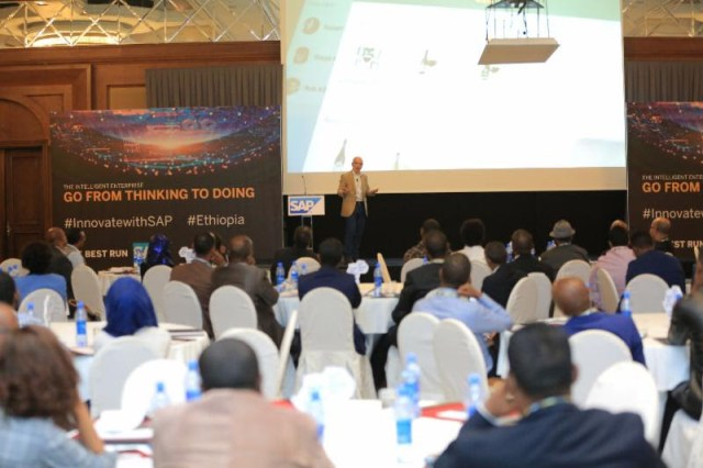 It featured a range of presentations by SAP experts, partners and customers