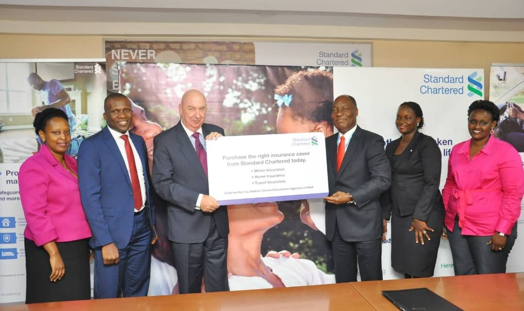 Standard Chartered Bank Uganda has commenced offering insurance services to its clients in partnership with Sanlam.