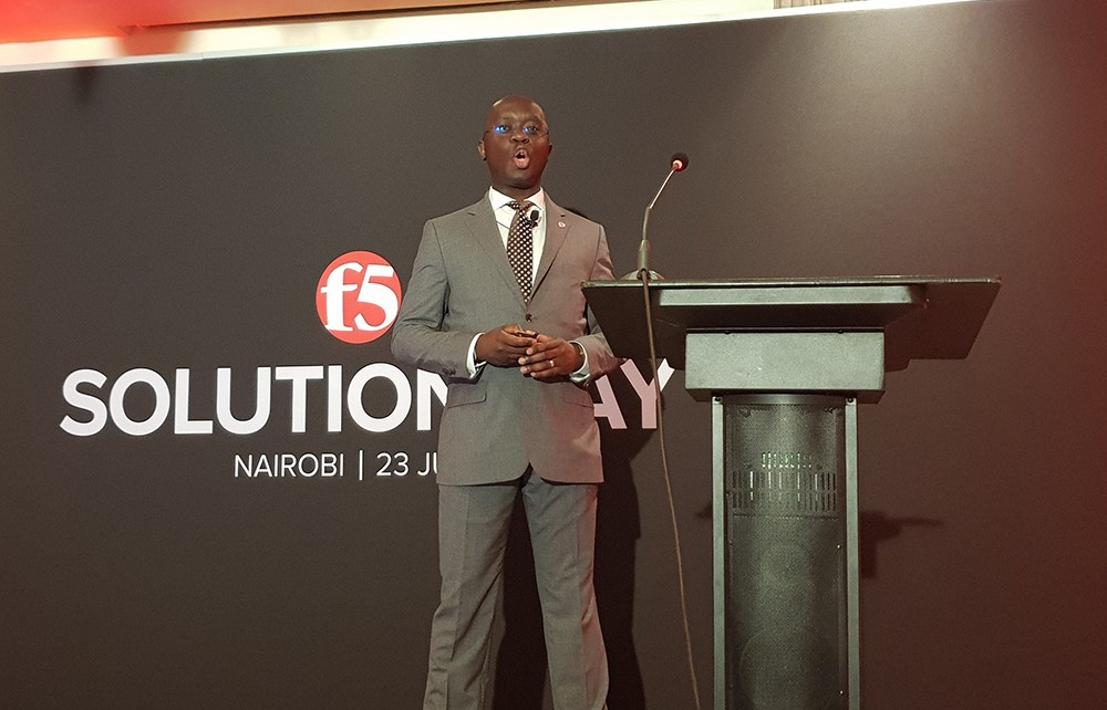Alain Tshal, District Sales Manager - Sub-Saharan Africa, F5 Networks
