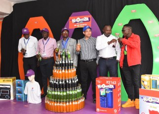 Crown Beverages Limited (CBL), the bottler of Pepsi, Mirinda, Mountain Dew, Sting, and Nivana Water has today launched a new customer reward promotion dubbed Nyongeza Aya Bass.