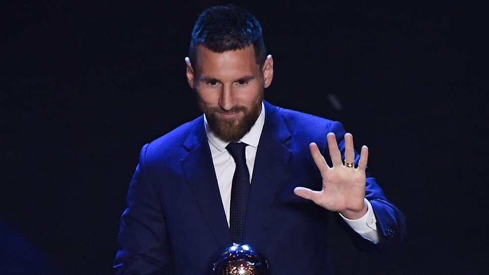 After winning the Spanish La Liga trophy with Barcelona last season, Lionel Messi was yesterday announced the winner of the 2019 FIFA  Best Men's Player award, beating out Liverpool's Virgil van Dijk and Juventus' Cristiano Ronaldo.