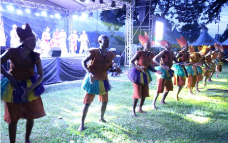 Uganda's representatives at the East African Community Arts and Culture Festival (JAMAFEST) were above average as they put up a thrilling show of cultural dances on the first day of the regional fair taking place in the Tanzanian city of Dar es Salaam.