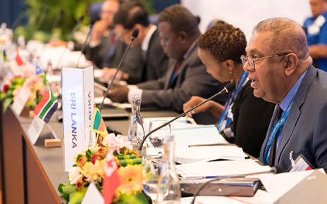 Commonwealth finance ministers will meet in Washington D.C. this week to discuss coordinated interventions to prevent future debt crises.