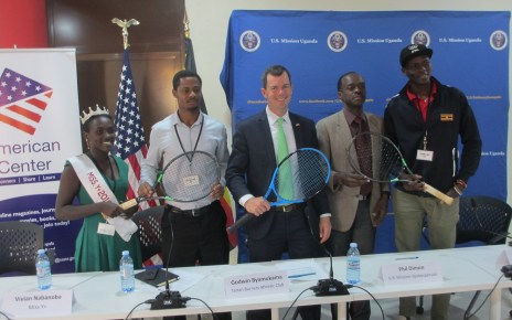 The US mission in Uganda in partnership with the Tartan Burners Athletic Club and the Uganda Tennis Association have launched the inaugural Arthur Ashe Memorial Regional Tennis competitions aimed at creating awareness of the HIV virus as well as promoting the game of Tennis in Uganda.