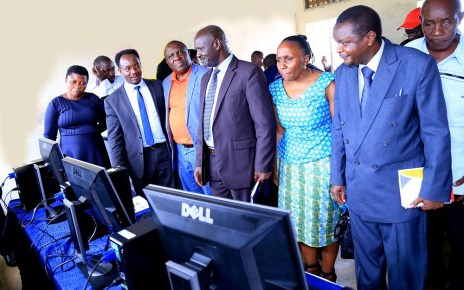 Tullow Uganda Operations Pty Ltd, a subsidiary of Tullow Oil Plc, has handed over four computer labs and 65 computers to four government primary schools including; Ndandamire Primary school, Buliisa Primary school, Kaiso Primary school and Kyehoro Primary school in Buliisa and Hoima District.