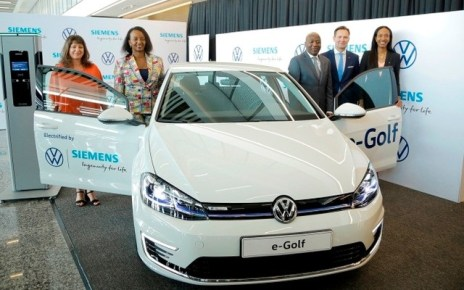 Rwanda has become the first African country to introduce Volkswagen electric car.