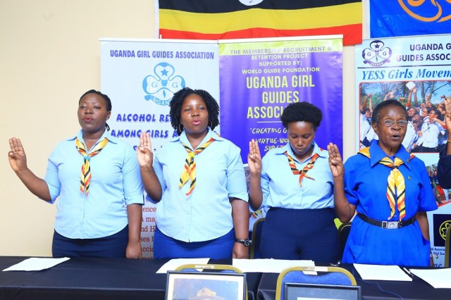 The Uganda Girl Guides Association (UGGA) has launched a fundraising drive aimed at raising awareness and funds toward hosting the historic World Conference of Girl Guides.