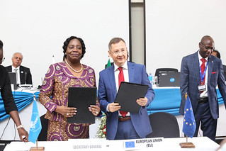 The European Union and COMESA have signed 8.8 million Euros Contribution Agreement to increase private sector participation in sustainable regional and global value chains through improved investment/business climate and enhanced competitiveness in the COMESA region.