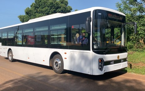 Kiira Motors Corporation, a local vehicle manufacturing company in Uganda conducted a successful 130Km road test for a flagship model city bus ( Kayoola EVS), from Nakasongola to Kampala, to celebrate the  Golden Jubilee of Engineering in Uganda.